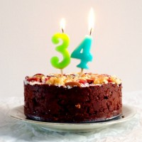 rens kroes chocoladetaart verjaardagstaart