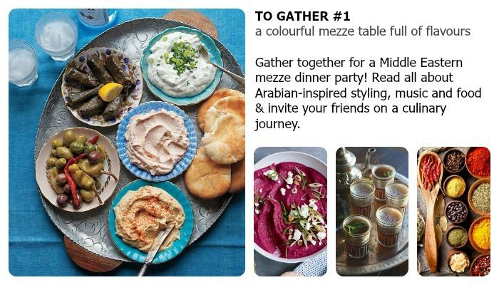 gather together mezze dinner part ideas