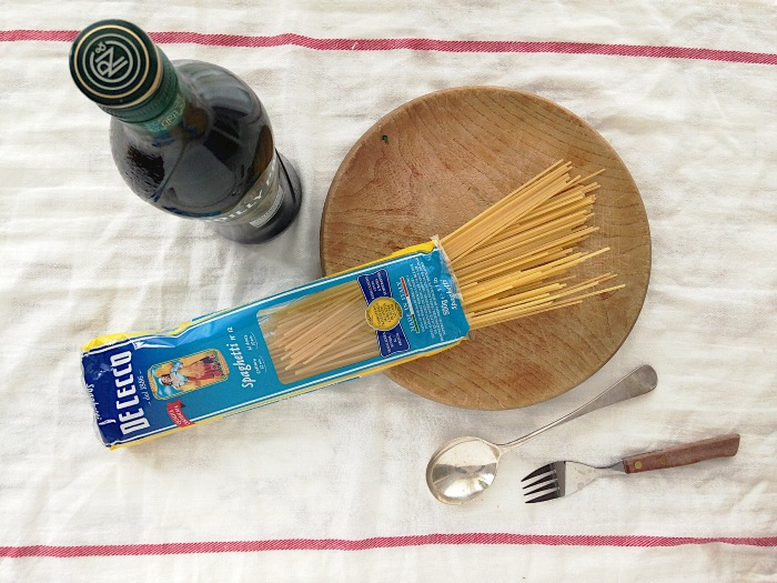 pasta champignons spek recept