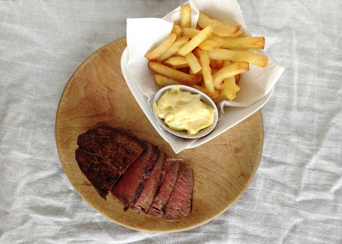 steak fries mayonnaise recipe