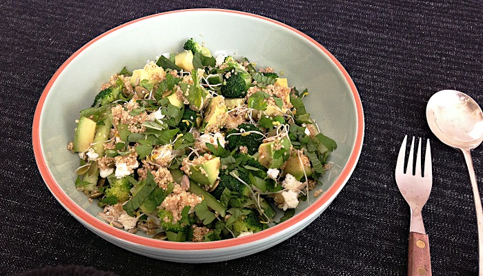 superfood salade Leon recept