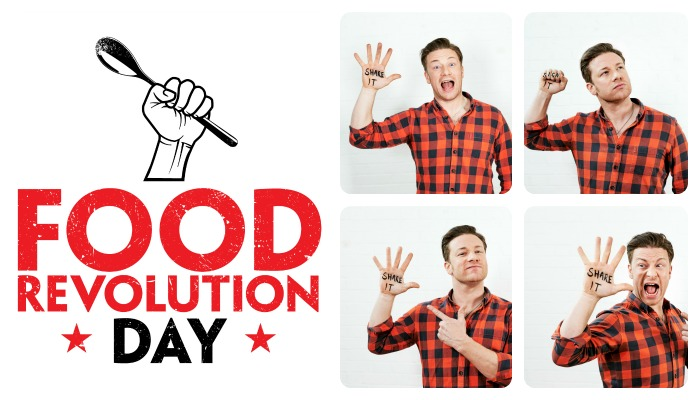 Food revolution day Jamie Oliver