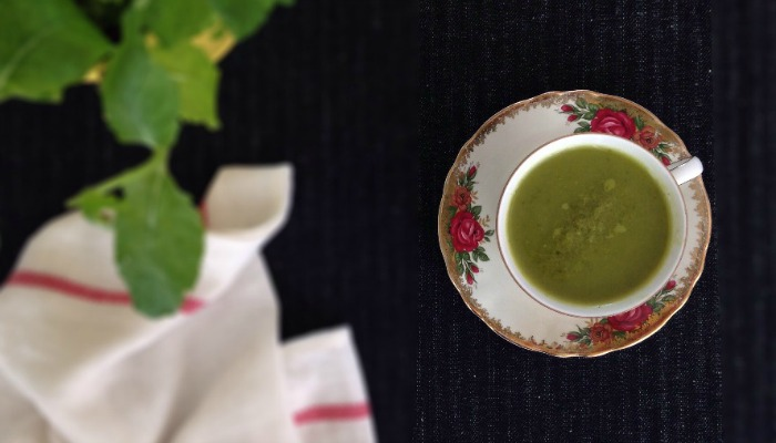 pea watercress soup recipe