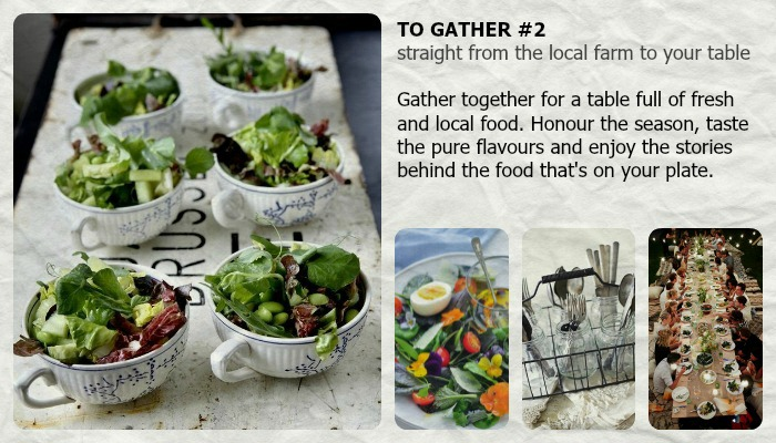 to gather farm to table dinner