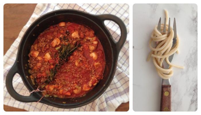 slow bolognaise saus recept