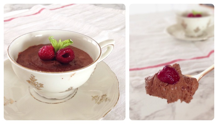 Belgian chocolate mousse recipe