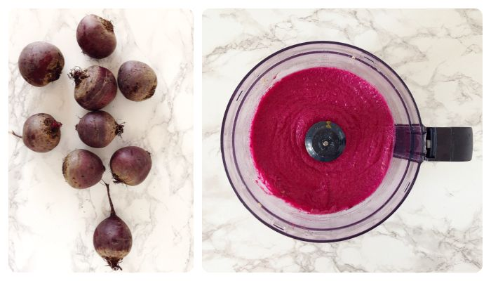 roasted beet hummus spread recipe