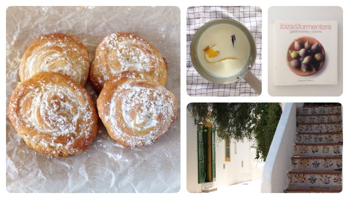 Ibiza greixonera ensaimada dessert recipe