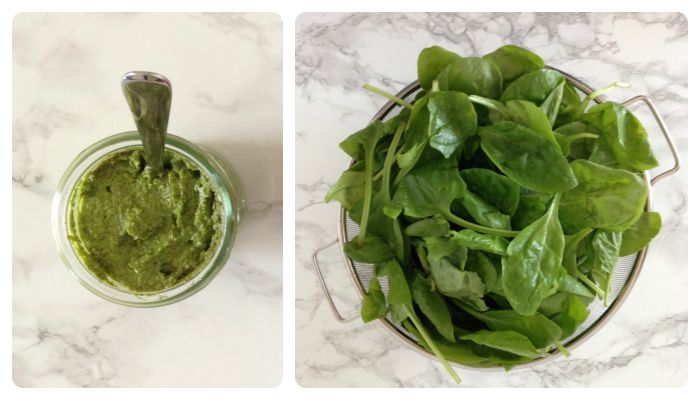recipe spinach walnut pesto