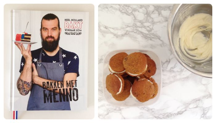 recept carrot cake whoopies men heel holland bakt