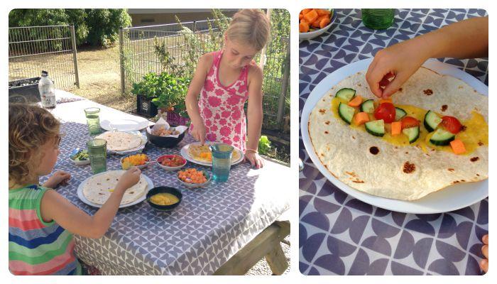koken met kids recept wraps zelfgemaakte kipnuggets