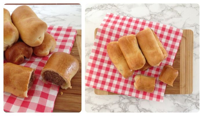 Sausage bread roll recipe